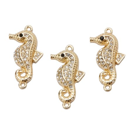 Darice Jewelry Connectors: Sea Horse Animal Charm Links (Jewelry Connectors)