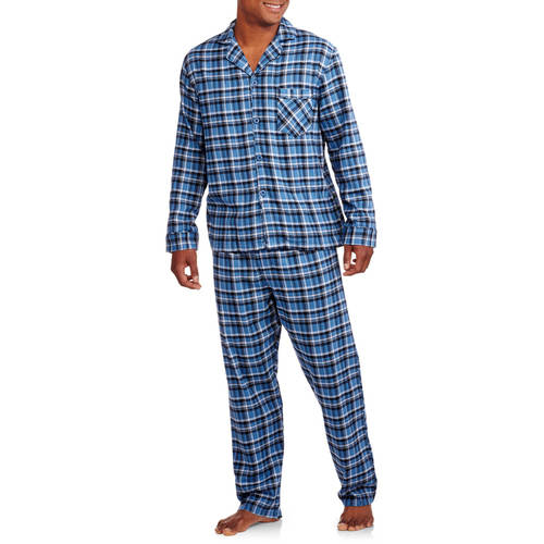 Hanes Big Men's Flannel Pajama Set