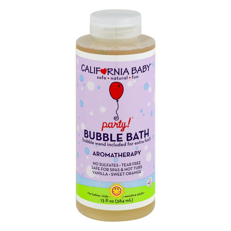 California Baby Party Bubble Bath Aromatherapy, 13.0 FL OZ - Champagne Bubble Bath