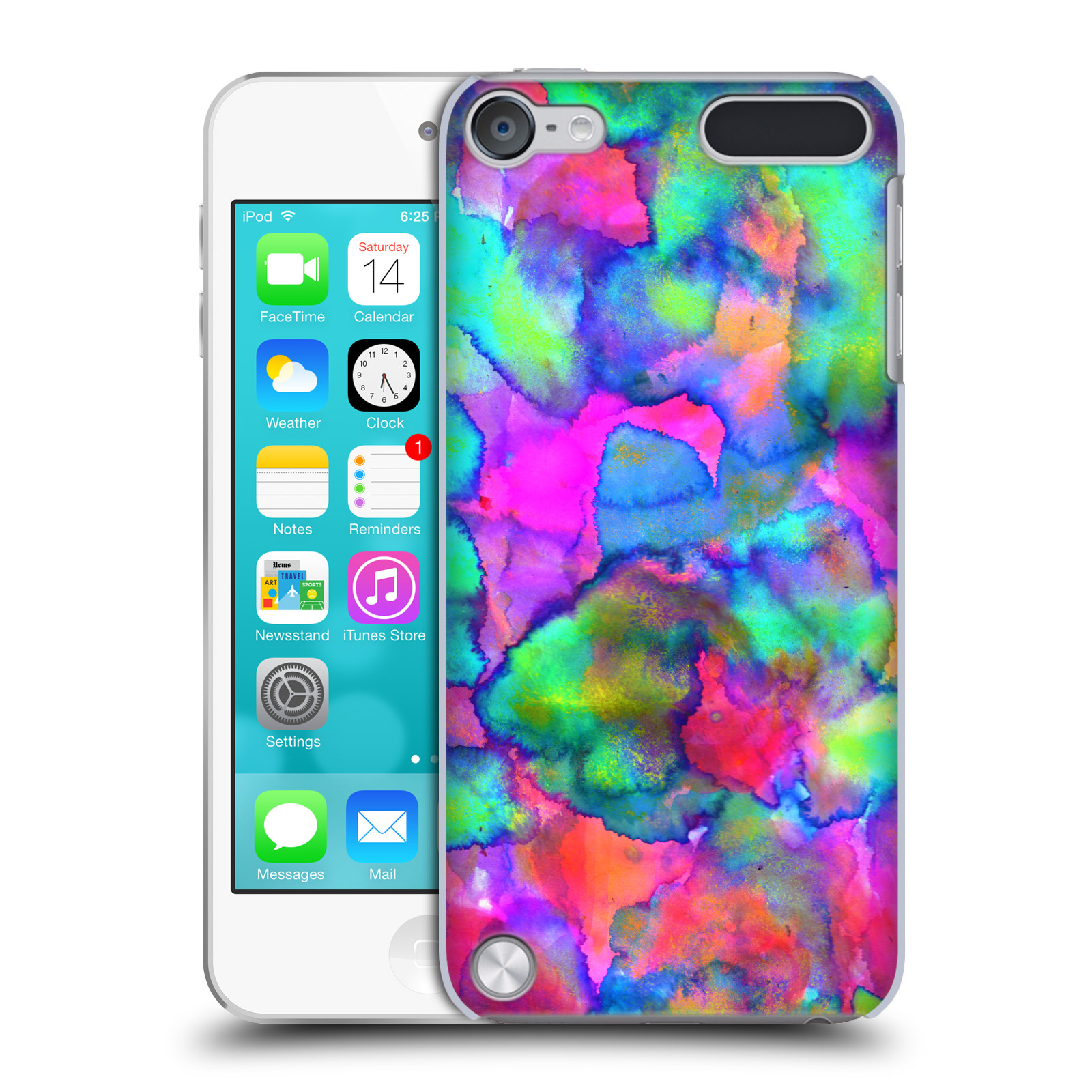 OFFICIAL AMY SIA ABSTRACT COLOURS HARD BACK CASE FOR APPLE IPOD TOUCH MP3