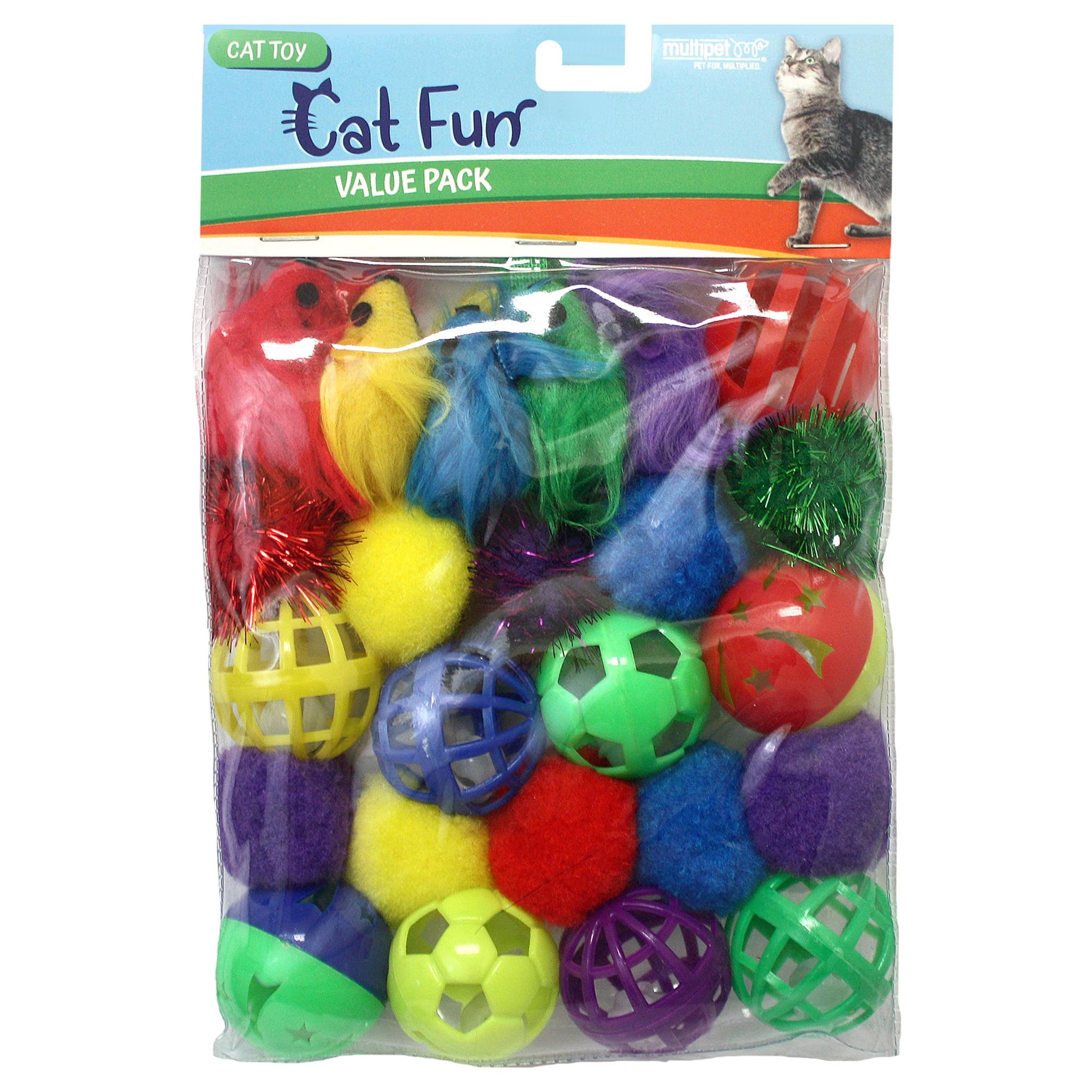 Multipet Value Pack Cat Toy, 24 Count
