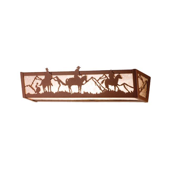 MEYDA 15496 24 inch W Cowboy Vanity Light