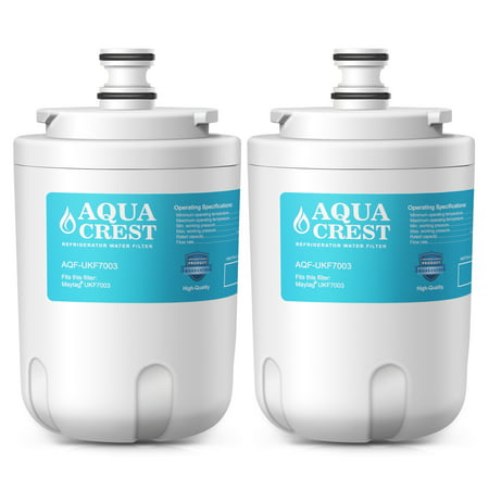 2 Pack AQUACREST UKF7003 Replacement for Maytag UKF7003 Whirlpool EDR7