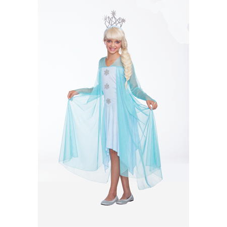 Halloween Wholesalers Princess Costume (Ice blue)