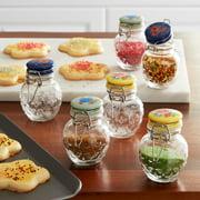 The Pioneer Woman Floral Medley 6-Piece Spice Jar Set
