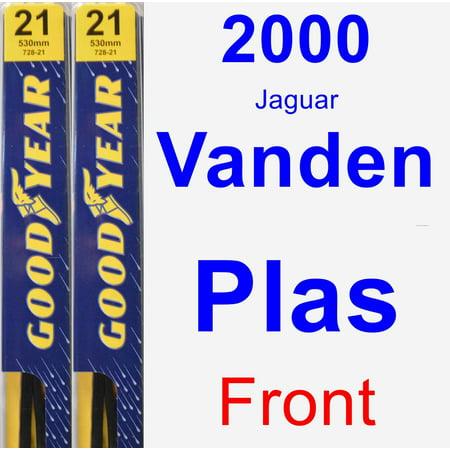 2000 Jaguar Vanden Plas Wiper Blade Set/Kit (Front) (2 Blades) - (2000 Jaguar Van Den Plas)