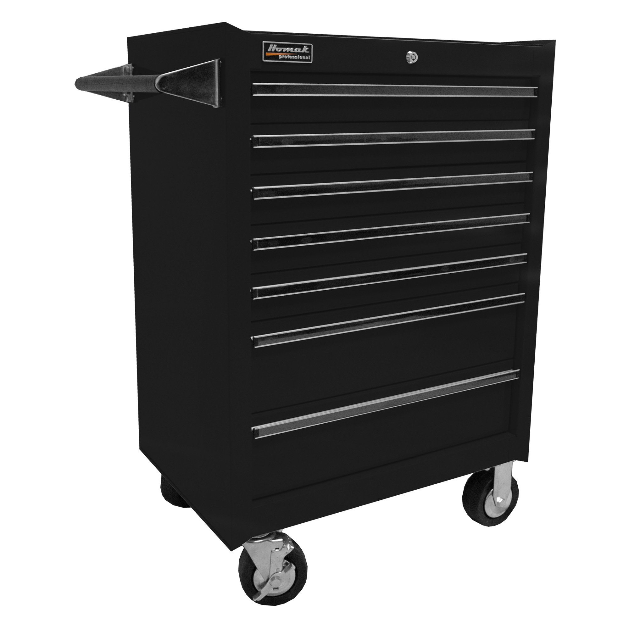 Homak Pro Series 7 Drawer Rolling Cabinet