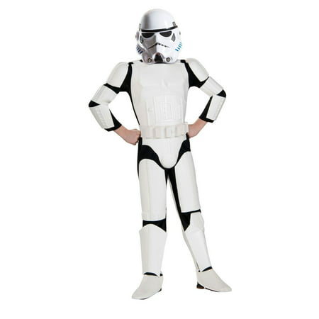 Star Wars Rebels Kids Deluxe Stormtrooper - Stormtrooper Costume Children