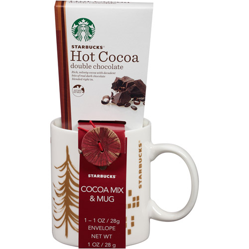 Starbucks Mug & Cocoa Set (Mug Design will Vary)