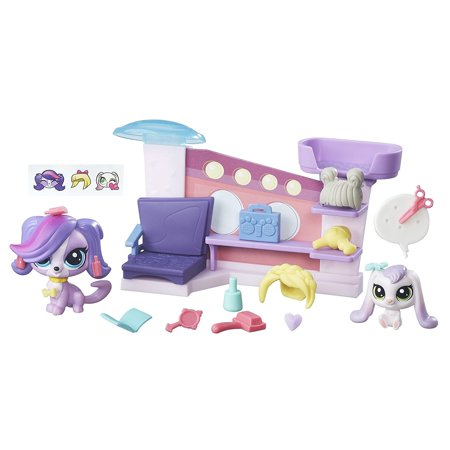 Salon Playset, Primp and style pets with this beauty-fun playset By Littlest Pet Shop Ship from