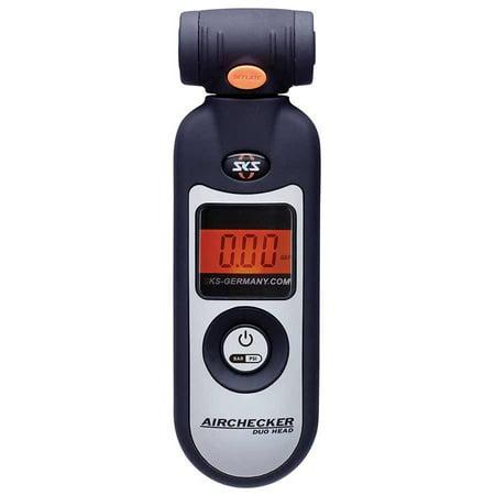SKS Airchecker Digital Display Pressure Gauge: Presta and Schrader