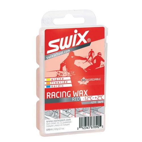 Bio-Degradable Swix Ski Snowboard Wax UR8-6 Mid Temp