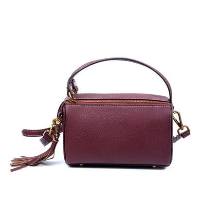 Foressence Genuine Leather Eva Satchel