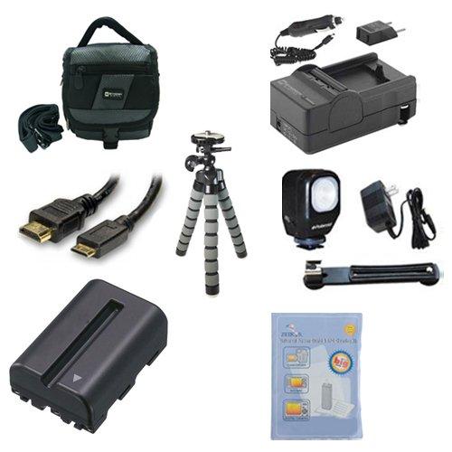 Sony Alpha DSLR-SLT-A57 Digital Camera Accessory Kit includes: SDNPFM500H Bat...