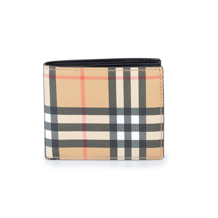 Burberry Vintage Check International Bifold Card Wallet (Burberry Check Buckle)