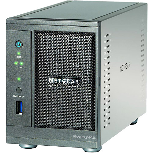 NETGEAR RNDU2120-100NAS ReadyNAS 2TB Ultra 2 Multimedi
