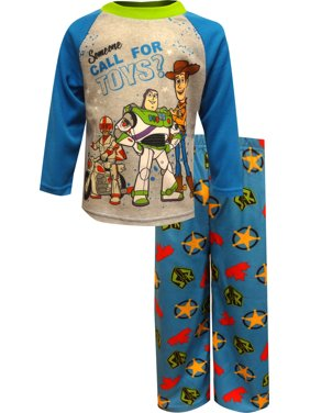 AME Sleepwear Boys' Toy Story Someone Call For Toys? Pajama