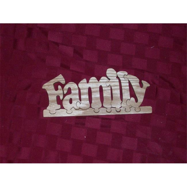 Fine Crafts 1354PUZ Wooden Family jigsaw puzzle