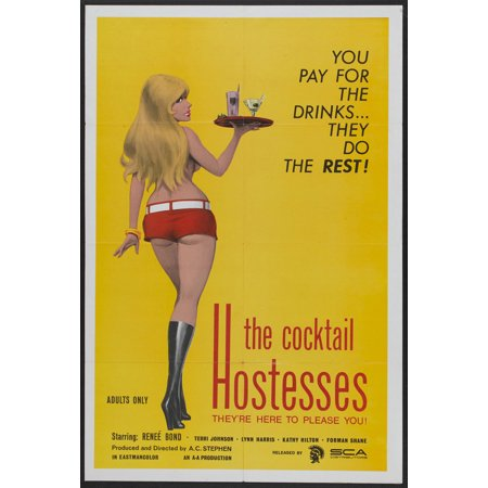 The Cocktail Hostesses Poster Movie  27X40