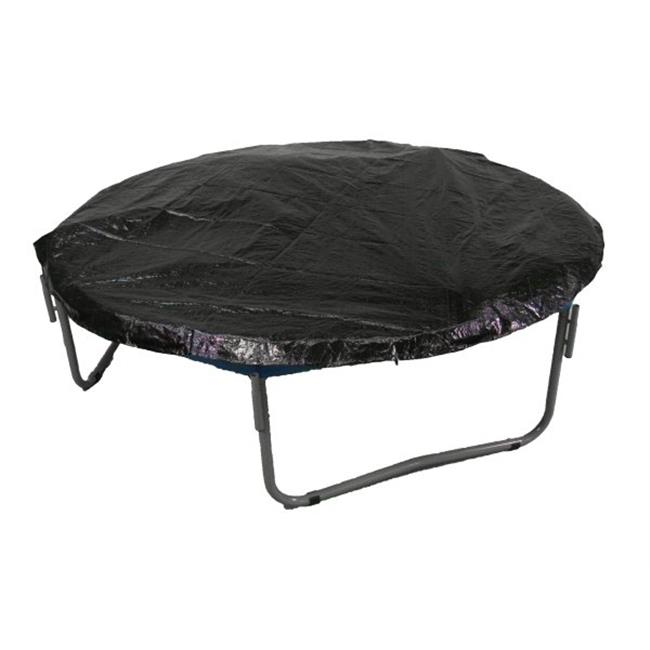 Upper Bounce  12 Trampoline Protection Cover (Weather & Rain Cover) Fits for 12 FT. Round Trampoline Frames - Black
