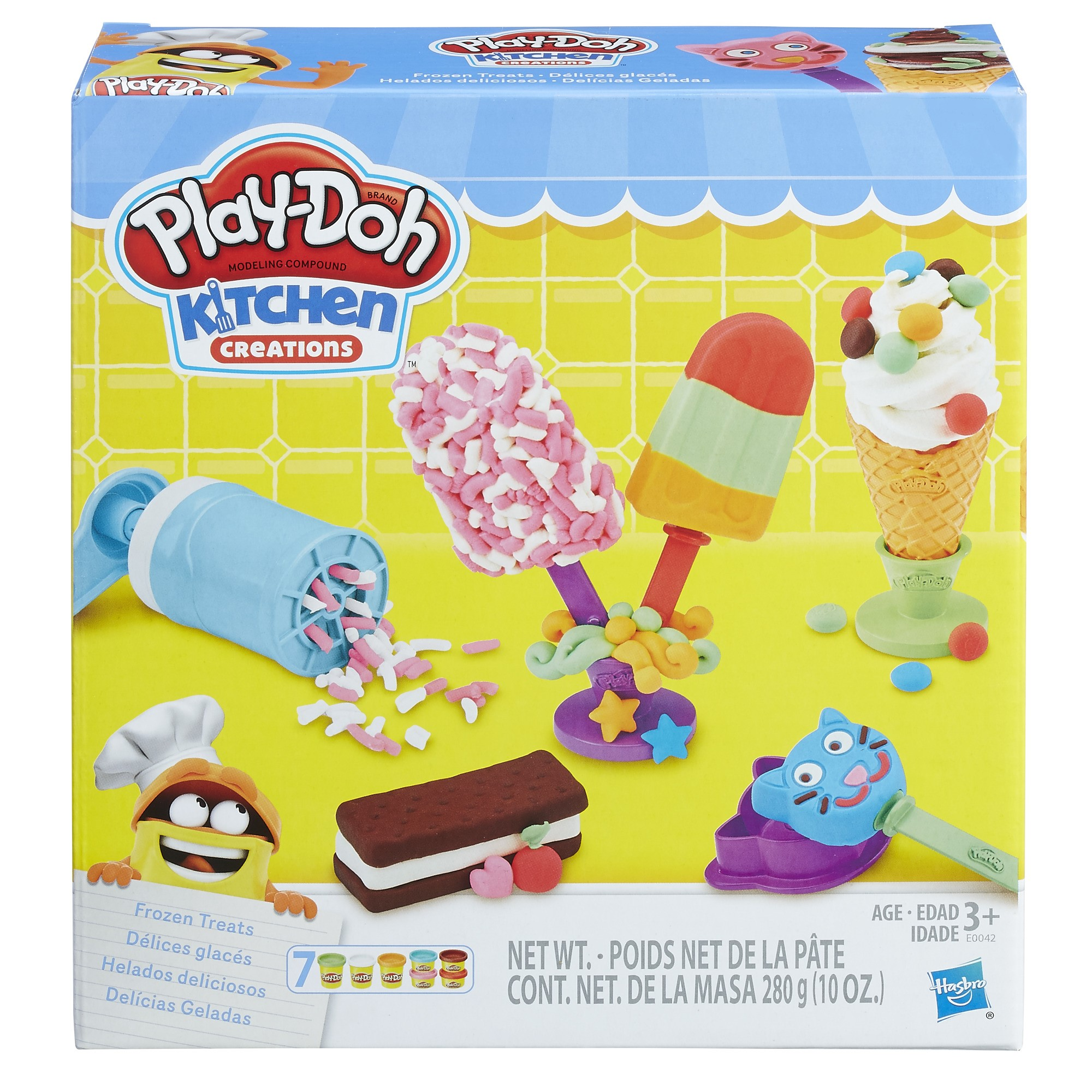 Play-Doh Kitchen Creations Frozen Treats Food Set