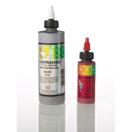 Chefmaster Metallic Airbrush Color, 2 Oz. - Gold