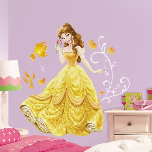 Room Mates Disney Princess Belle Giant Wall Decal Part 89