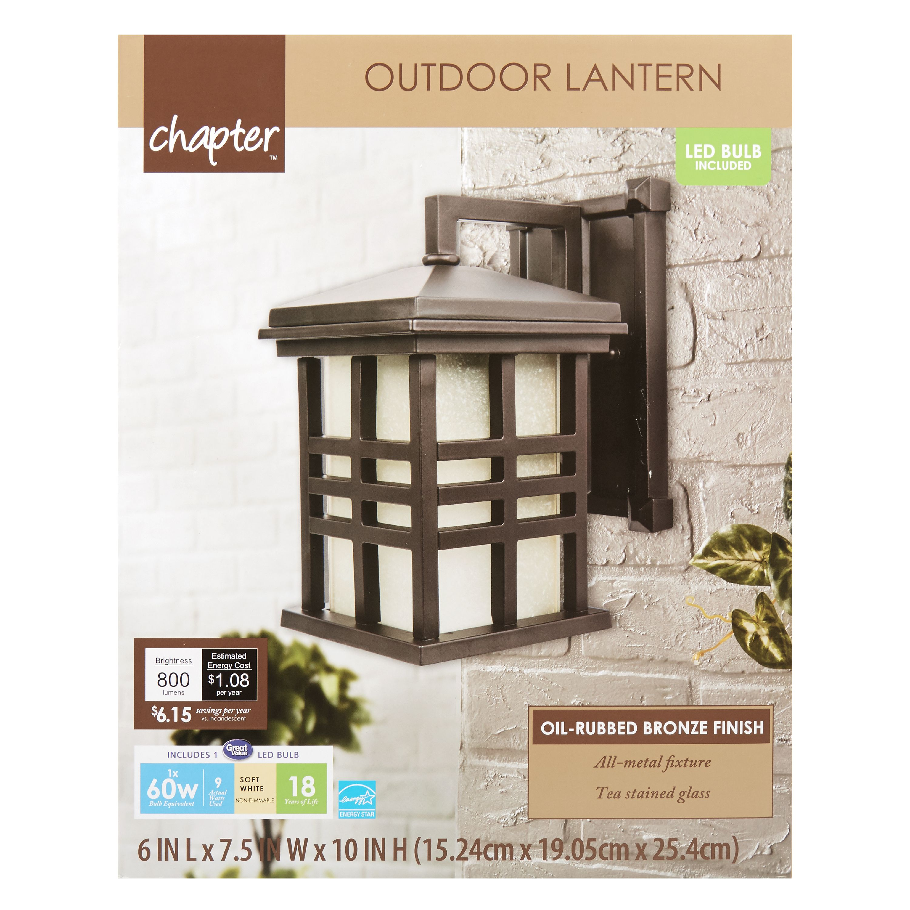 Chapter Outdoor Grill Lantern Orb – Walmart Inventory Checker