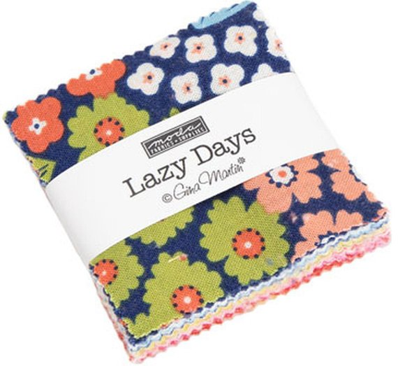 Lazy Days 10070PP Charm Pack//Patchwork//Fabric//Quilting