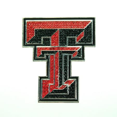 - Texas Tech University Crystal Pin