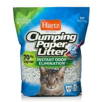 Hartz Clumping Paper Cat Litter, 4-lb