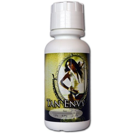 Dark Tan Combo - Tan Envy Spray Tan 11.5%, Natural and Organic Spray Tan Solution (Dark)- 8 oz