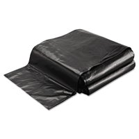FlexSol Linear Low-Density Ecosac, 40 x 48, 45-Gallon, 1.0 Mil, Black