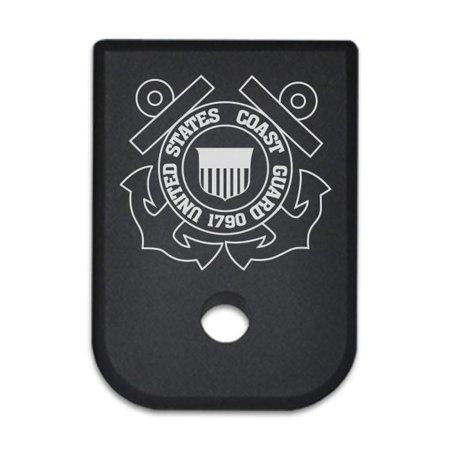 Magazine Base Plate For Glock 10Mm   Us Coast Guard