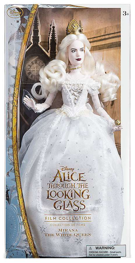 Disney Through the Looking Glass Mirana the White Queen Doll by