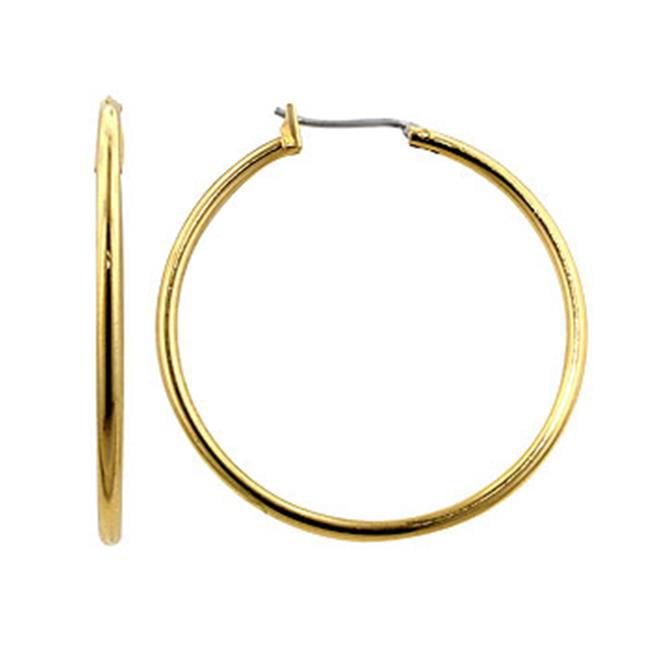 Kate Bissett E01620O-V00 Basic Golden Hoop Earrings