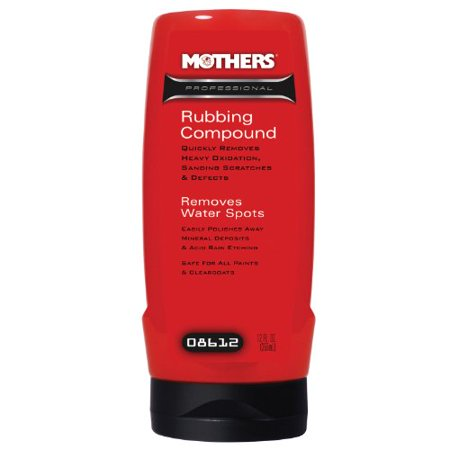 Mothers 08612 Professional Rubbing Compound - 12