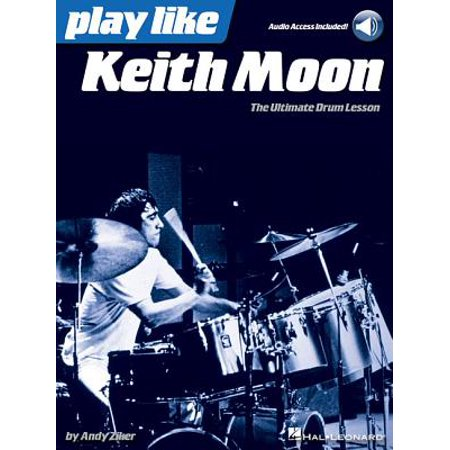 Play Like Keith Moon : The Ultimate Drum Lesson Book with Online Audio Tracks - Keith Moon Halloween