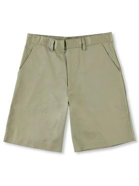 Universal Husky Flat Front Unisex Shorts (Sizes 10H - 20H)