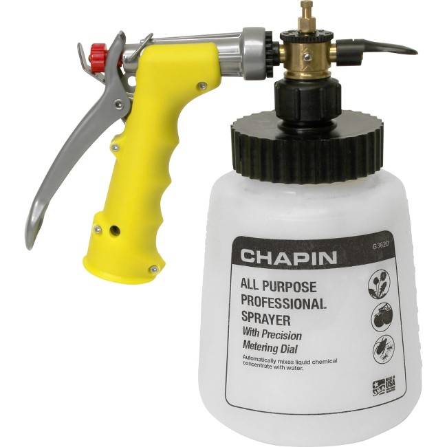 Professional All Purpose Sprayer with Metering Dial Sprays Up To 320 gallons