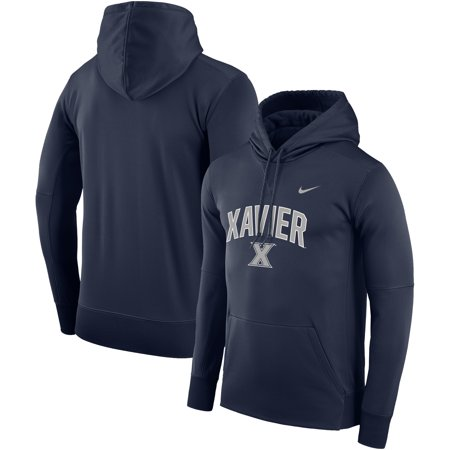 Xavier Musketeers Arch Over Logo Pullover Hoodie - Navy