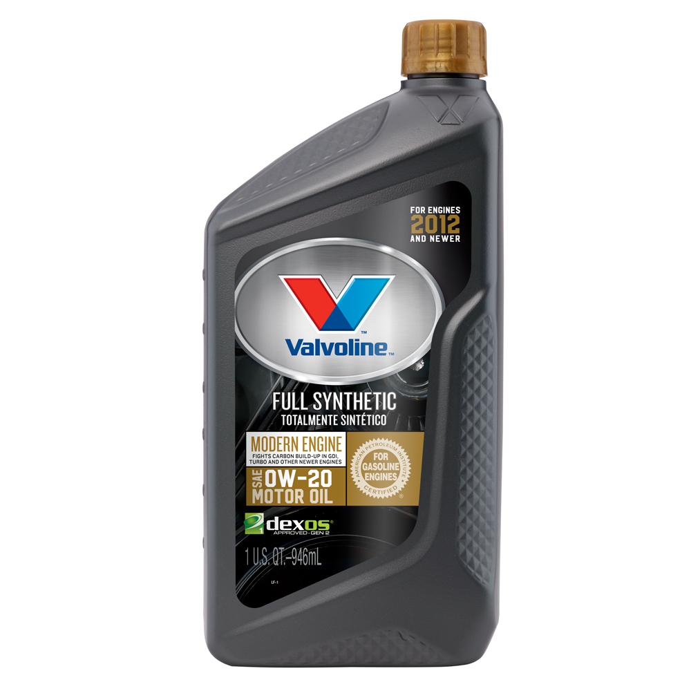 Valvoline™ Modern Engine SAE 0W-20 Full Synthetic Motor Oil - 1 Quart
