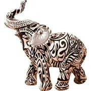 Fashion Craft Spectacular Boho Aztec Standing Elephant Figurine