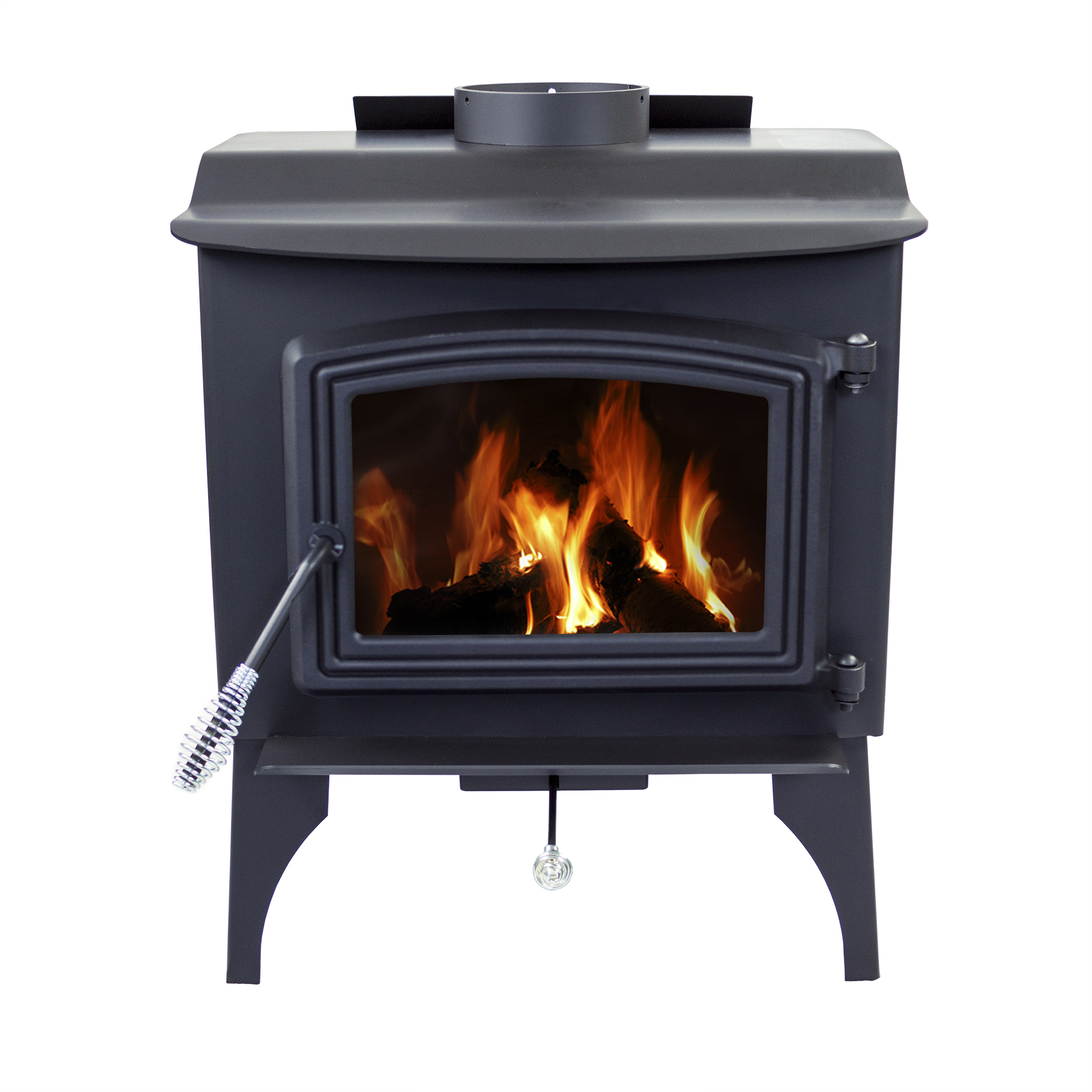 Pleasant Hearth 1,200 Sq. Ft. Small Wood Burning Stove by GHP Group, Inc.