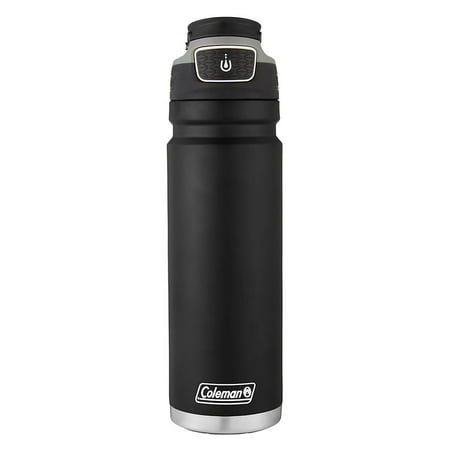 Coleman Autoseal FreeFlow Stainless Steel Insulated Water Bottle, 24oz