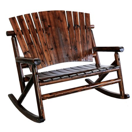Char-log Plain Double Rocker (Log Style Glider)