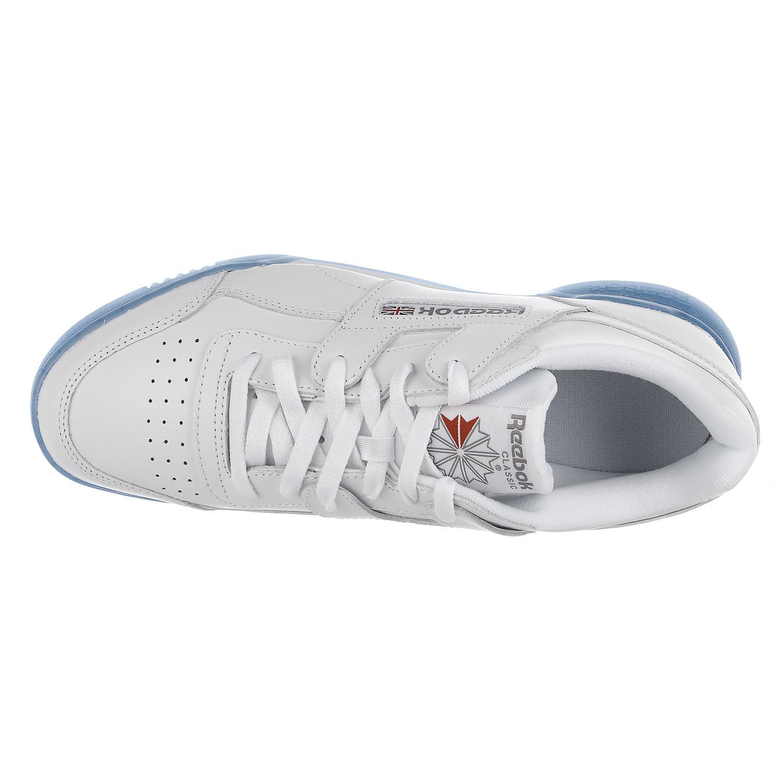 94457142a59 Reebok - Reebok Workout Plus Ice Sneaker - White Flat Grey Ice - Mens - 10  - Walmart.com