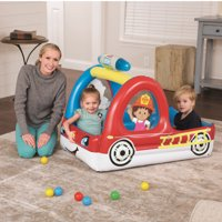 Deals on Fisher-Price Fire Truck Inflatable Ball Pit