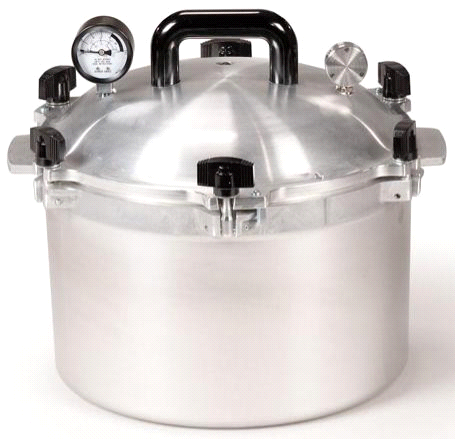 All American 15.5 Quart Pressure Cooker by Wisconsin Aluminum Foundry