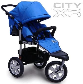 Tike Tech CityX3 Single Swivel Child Baby Stroller